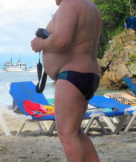 fat man speedo